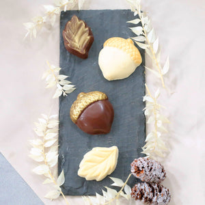 Gilded Fall Chocolates Using Edible Art Paint