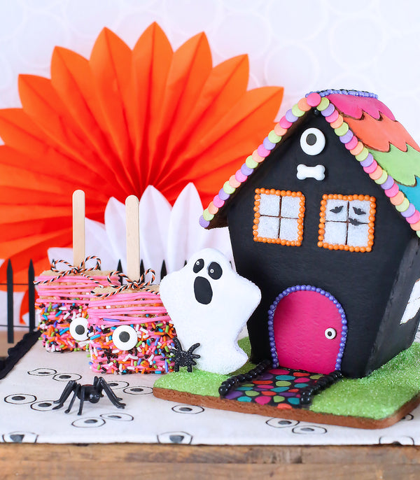 Cookie Haunted House Halloween Party Display