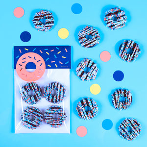 Chocolate Donut Party Favors