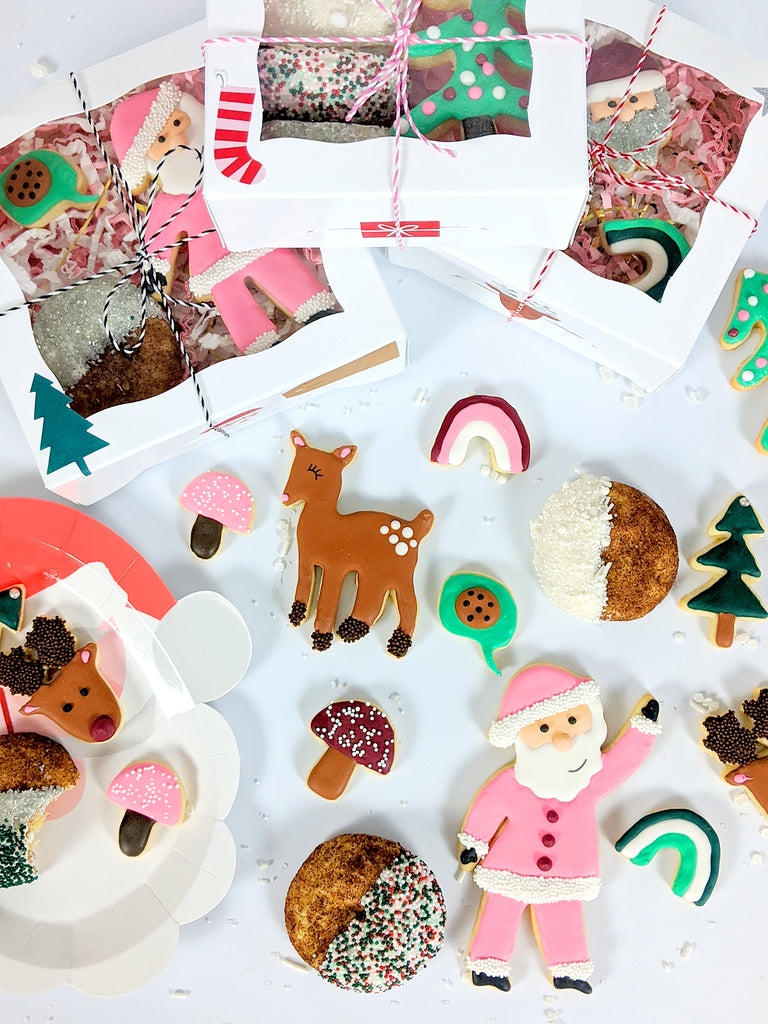 Christmas Cookie Packaging Ideas at www.bakerspartyshop.com