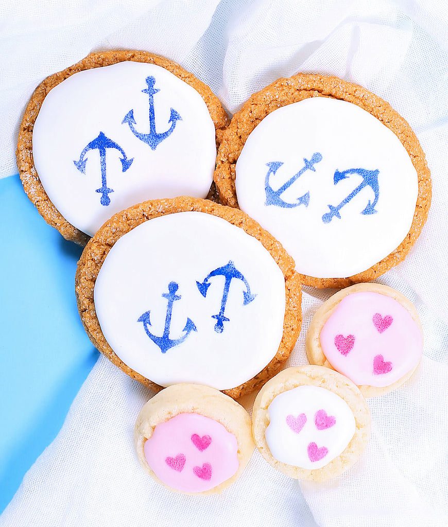 Nautical Sugar Cookies | www.bakerspartyshop.com