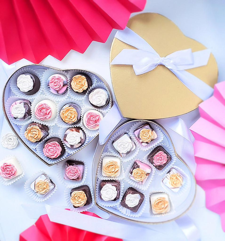 DIY Valentine's Day Gifts + Packaging Ideas Using Heart Candy Boxes | www.bakerspartyshop.com