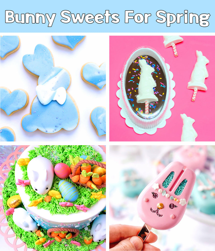 Bunny Sweets + Desserts For Spring | 4 Easter Treats + Sweets Ideas on Bakers Party Shop's Blog | www.bakerspartyshop.com