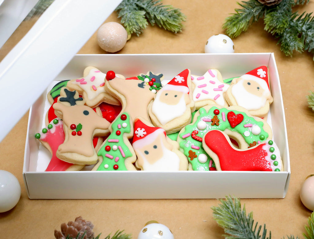 Christmas Cookie Packaging Ideas Festive Holiday Packaging For Sweets Bakers Party Shop