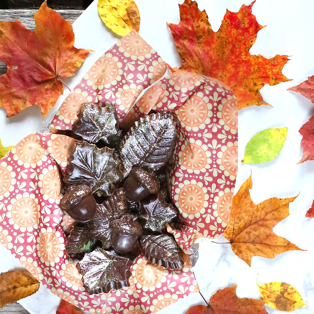 Easy Chocolate Friendsgiving Hostess Gift | www.bakerspartyshop.com