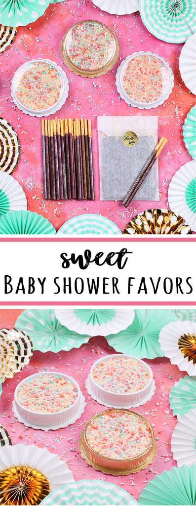 Sweet Baby Shower Favors | www.bakerspartyshop.com