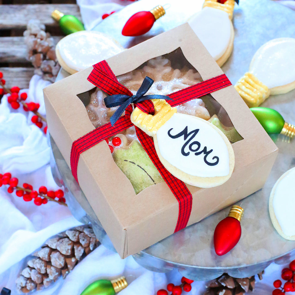 Edible Christmas Cookie Gift Tags | www.bakerspartyshop.com