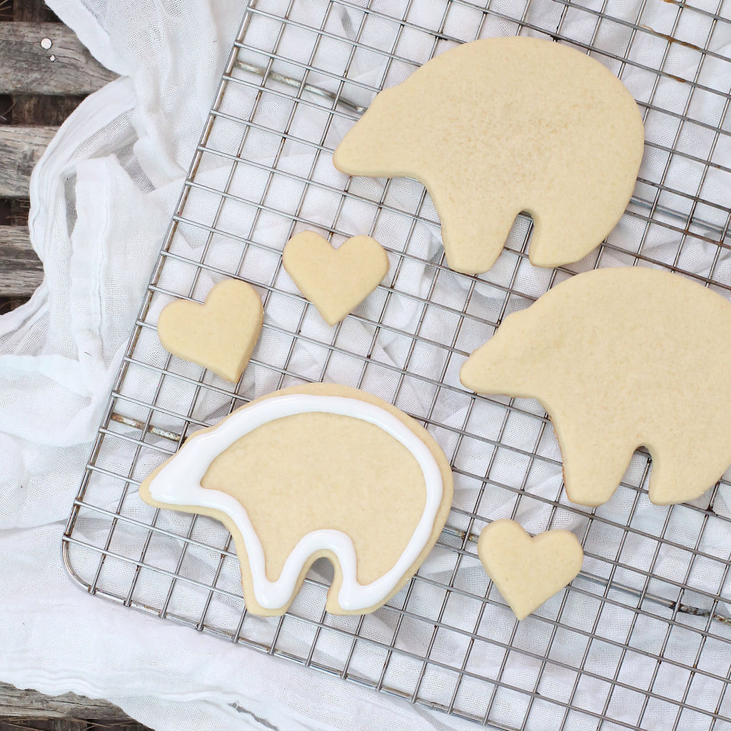 Polar Bear Sugar Cookies | www.bakerspartyshop.com