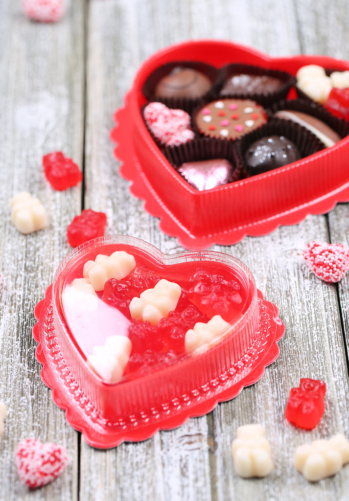 easy valentines day sweets packaging ideas wwwbakerspartyshopcom