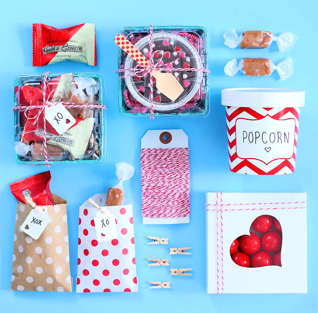 Valentine's Day Packaging Ideas | www.bakerspartyshop.com