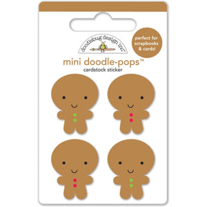 Gingerbread Man Stickers | www.bakerspartyshop.com