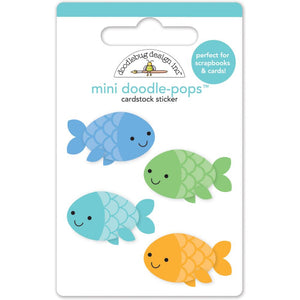 Doodle-Pops Minnow Fish Stickers | www.bakerspartyshop.com
