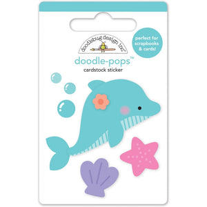 Large Dolphin Sticker | www.bakerspartyshop.com