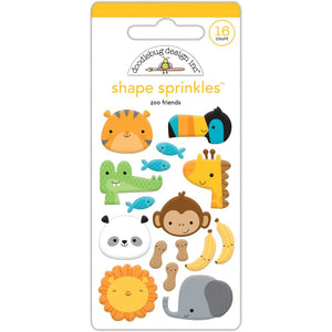 Glossy Zoo Animal Stickers | www.bakerspartyshop.com
