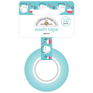 Takeout Washi Tape | www.bakerspartyshop.com
