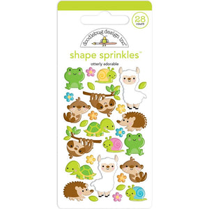 Glossy Otterly Adorable Stickers | www.bakerspartyshop.com