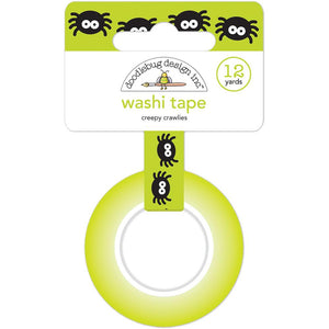 Halloween Washi Tape: Creepy Crawlies Spider | www.bakerspartyshop.com