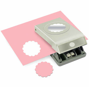 2 Inch Scallop Paper Punch | www.bakerspartyshop.com