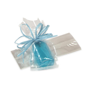 Small Gusseted Cellophane Bags: 2.5 x 6"