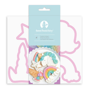 Sweet Tooth Fairy Unicorn Cookie Cutters | www.bakerspartyshop.com