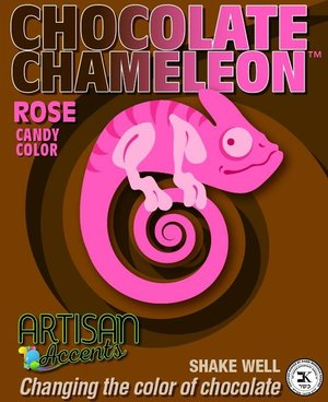 Chocolate Chameleon Rose Candy Color | www.bakerspartyshop.com
