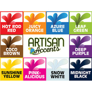 Artisan Accents Leaf Green Color Gel Food Coloring | www.bakerspartyshop.com