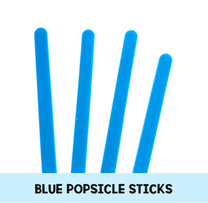 Blue Popsicle Sticks: Acrylic Cakesicle Sticks | www.bakerspartyshop.com