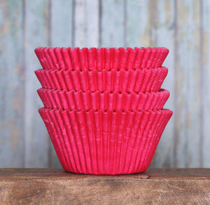 Jumbo Pink Cupcake Liners: Solid | www.bakerspartyshop.com