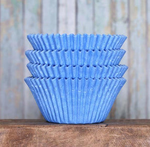 Jumbo Light Blue Cupcake Liners | www.bakerspartyshop.com