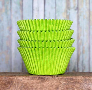 Jumbo Lime Green Cupcake Liners | www.bakerspartyshop.com