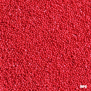 Bright Red Nonpareils | www.bakerspartyshop.com