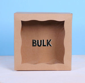 Bulk Mini Brown Bakery Boxes: 5x5"