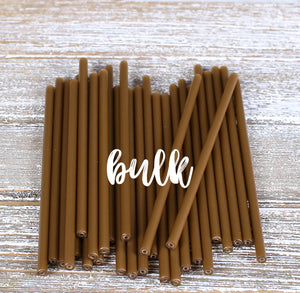 Bulk Gold Lollipop Sticks: 4.5"