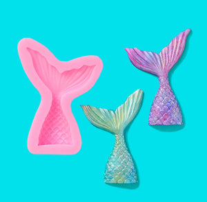 Mermaid Tail Candy Mold: Small | www.bakerspartyshop.com