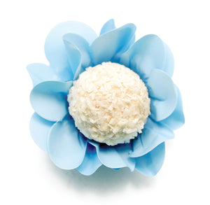 Blossom Flower Candy Cups: Baby Blue | www.bakerspartyshop.com