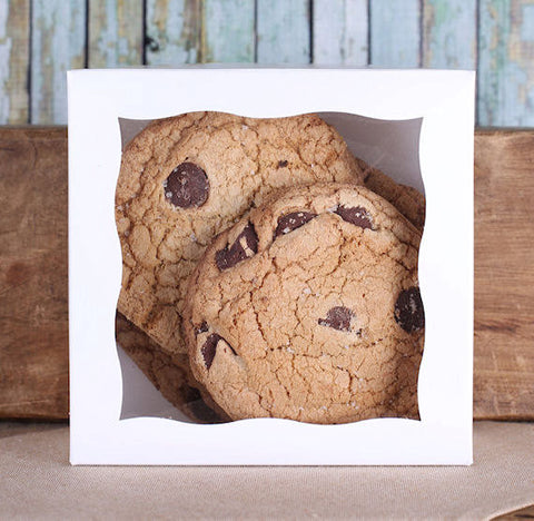 Small White Bakery Boxes | www.bakerspartyshop.com