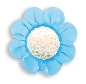 Daisy Flower Candy Cups: Light Blue | www.bakerspartyshop.com