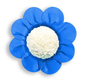 Daisy Flower Candy Cups: Royal Blue | www.bakerspartyshop.com