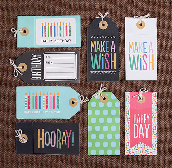 Birthday Gift Tags   www.bakerspartyshop.com