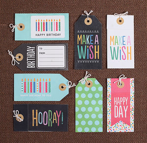 Birthday Gift Tags | www.bakerspartyshop.com