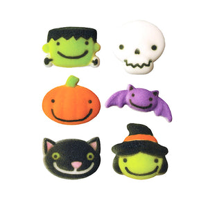 Cute Halloween Sugar Toppers | www.bakerspartyshop.com