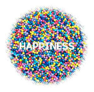 Happiness Nonpareils Mix | www.bakerspartyshop.com