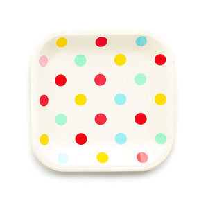 Large Birthday Plates: Hip Hip Hooray | www.bakerspartyshop.com