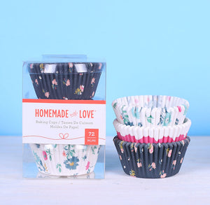 Cupcake Liners: Tea Time | www.bakerspartyshop.com