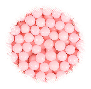 Light Pink Sugar Pearls: 10mm | www.bakerspartyshop.com