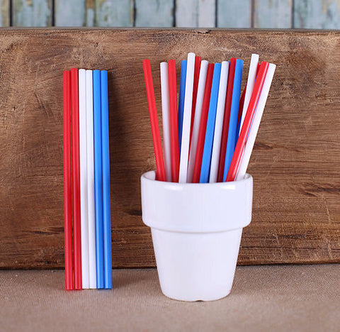 "Patriotic Lollipop Sticks (4 1/2"") 