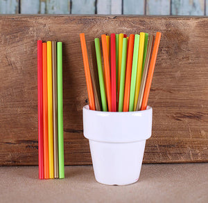 "Fall Harvest Lollipop Sticks (4 1/2"") 