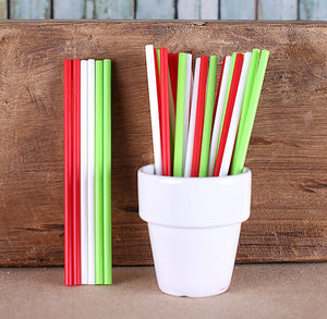 "Retro Christmas Lollipop Sticks (4 1/2"") 