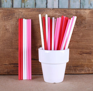 "Valentine's Day Lollipop Sticks (4 1/2"") 