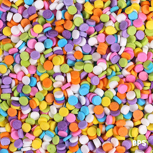 Mini Sequin Sprinkles: Bright Pastel | www.bakerspartyshop.com